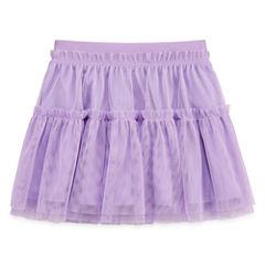 Okie Dokie® Solid Ruffle Tutu - Baby Girls newborn-24m
