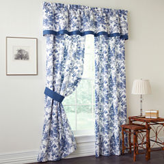 Toile Garden 2-Pack Curtain Panels