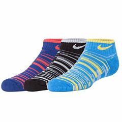 Nike 3-pk. Low Cut Socks- Boys X-Small