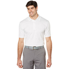 PGA TOUR Short Sleeve Jersey Polo Shirt