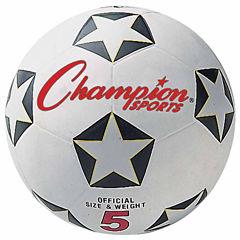 Champion Sports Rubber 3 Soccer Ball