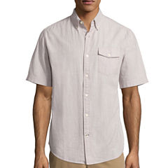 St. John's Bay Slub Check Shirt
