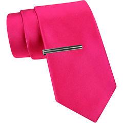 JF J. Ferrar® Solid Slim Tie