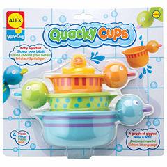 ALEX TOYS Rub A Dub Quacky Cups 4-pc. Toy Playset - Unisex