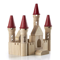 Guidecraft Castle Block Learning Toys Set