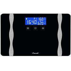 Escali® Wide Body Composition Bathroom Scale