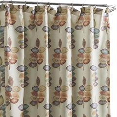 Croscill Classics® Mosaic Leaves Shower Curtain