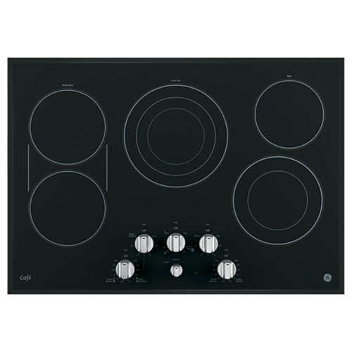 GE Café ™ 30 Built-In Knob Control Electric Cooktop With 6 Elements