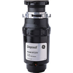 GE® 1/2 HP Continuous-Feed Garbage Disposer - Corded