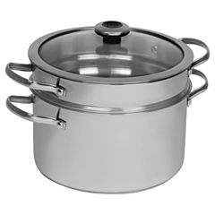 Revere Copper Confidence Core 6 1/2 Qt Stainless Steel Stockpot