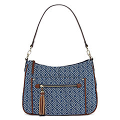 Liz Claiborne Julie Top Zip Shoulder Bag