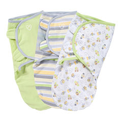 Summer Infant® 3-pk. SwaddleMe® - Busy Bees