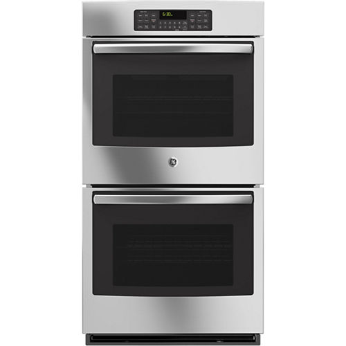 GE® 27 Built-In Double Electric Wall Oven Self Cleaning with Steam