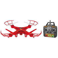 World Tech Toys Angry Birds Licensed Red Squak-Copter 4.5CH 2.4GHz RC Camera Drone