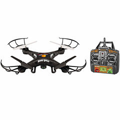 World Tech Toys Angry Birds Licensed Bomb Squak-Copter 4.5CH 2.4GHz RC Camera Drone