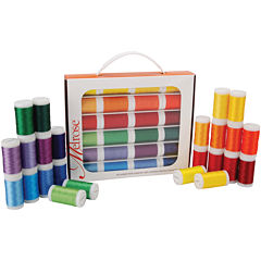 Melrose Trilobal 24-pk. Polyester Thread Assortment - Brights