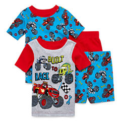 4-pc. Kids Truck Pajama Set Boys