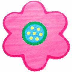 Poppy Light Pink Round Rugs