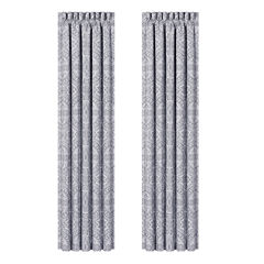 Queen Street Caprice 2-Pack Rod-Pocket Curtain Panel
