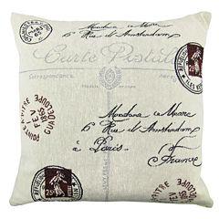 Park B. Smith® Postale Tapestry Decorative Pillow