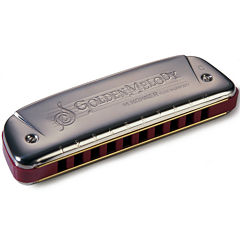 Hohner Golden Melody Diatonic Harmonica in the Key of C