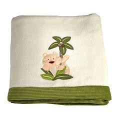 NoJo® Jungle Babies Blanket