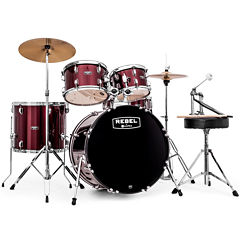 Mapex RB5294FTCDR Rebel 5-pc. Drum Set with Hardware & Cymbals with 22