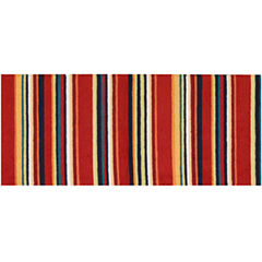 Nourison® Stripes Washable Runner Rug