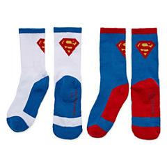 Licensed Properties Superman Crew Socks 2-pc.