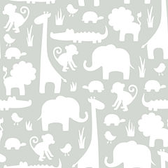 It's A Jungle In Here Peel-and-Stick Wallpaper