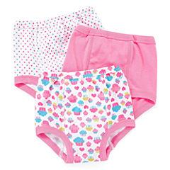 Okie Dokie® 3-pk. Training Pants - Girls 2t-3t