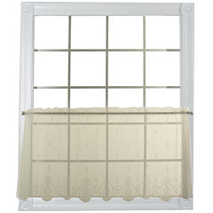 Heritage Lace® Welcome Sheer Rod-Pocket Window Tier