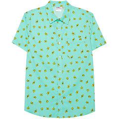Novelty Season Pikachu Pattern Front Shirt
