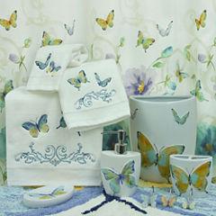 Bacova Guild Watercolor Garden Bath Collection