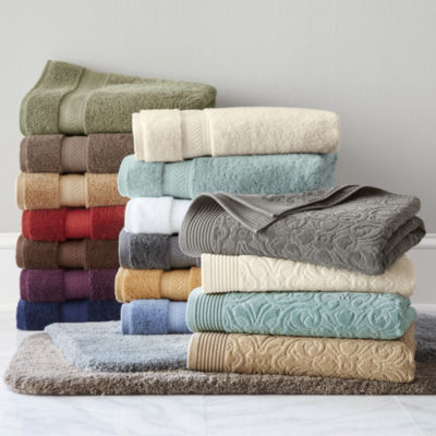 royal velvet sculpted u0026 luxury egyptian cotton loops bath towel u0026 rug collection - Royal Velvet Sheets