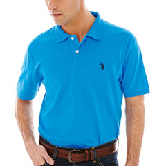 U.S. Polo Assn.® Short-Sleeve Solid Interlock Polo