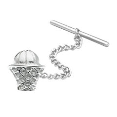 Basketball Net Tie Tack