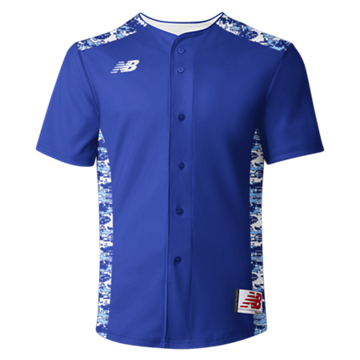 3000 Sublimated Jersey Full Button 104