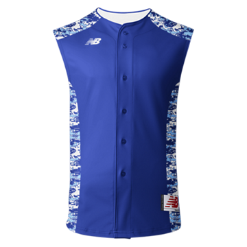3000 Sublimated Jersey Full Button Sleeveless 104