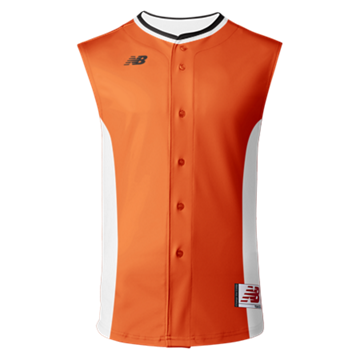 3000 Sublimated Jersey Full Button Sleeveless 106