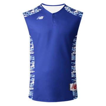 3000 Sublimated Jersey 2 Button Sleeveless 104