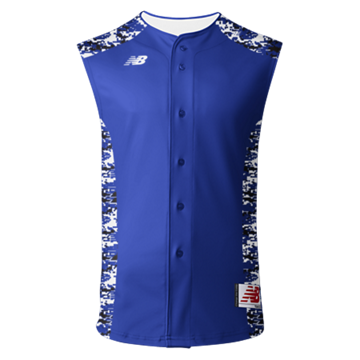 3000 Sublimated Jersey Faux Front Sleeveless 104