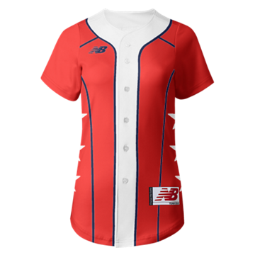 Prowess Sublimated Jersey Full Button 308