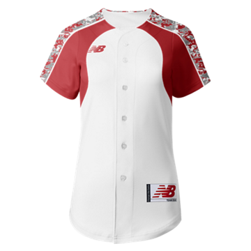Prowess Sublimated Jersey Full Button 306