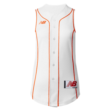 Prowess Sublimated Jersey Full Button Sleeveless 307
