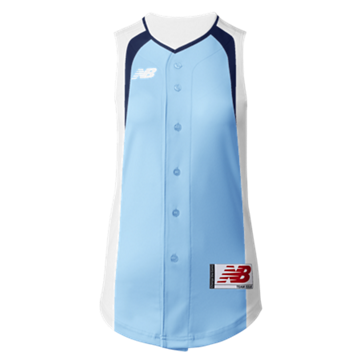 Prowess Sublimated Jersey Full Button Sleeveless 305