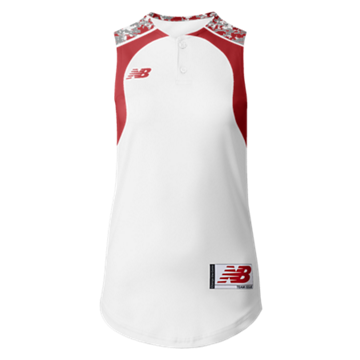 Prowess Sublimated Jersey 2 Button Sleeveless 306