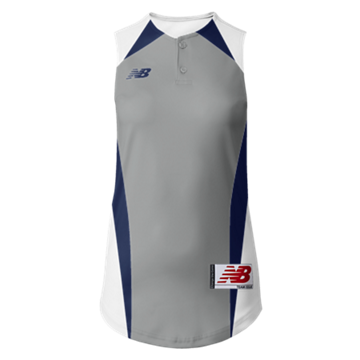 Prowess Sublimated Jersey 2 Button Sleeveless 302