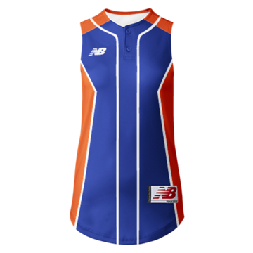 Prowess Sublimated Jersey 2 Button Sleeveless 301