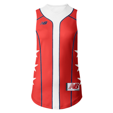 Prowess Sublimated Jersey V-Neck Sleeveless 308
